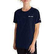 Champion Women's Script Logo Boyfriend T-Shirt