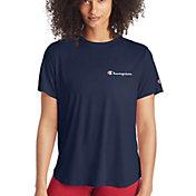 Champion Women's Classic Left Chest Short Sleeve T-Shirt