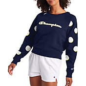 Champion Women's Campus French Terry Crewneck Sweatshirt