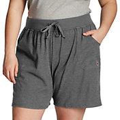 Champion Women's Plus Size Cotton Jersey Shorts