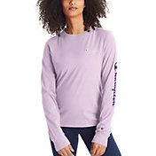 Champion Women's Sleeve Logo Long Sleeve T-Shirt
