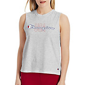 Champion Women's USA Graphic Muscle Tank Top