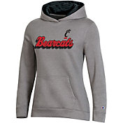Champion Women's Cincinnati Bearcats Grey Pullover Hoodie