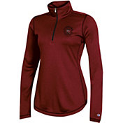 Champion Women's South Carolina Gamecocks Garnet Quarter-Zip Performance Shirt