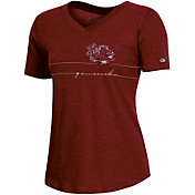 Champion Women's South Carolina Gamecocks Garnet V-Neck T-Shirt