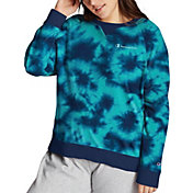 Champion Women's Plus Size Campus French Terry Crew Pullover