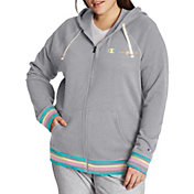 Champion Women's Plus Campus French Terry Zip Hoodie