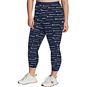 Champion Women's Plus Authentic Print 7/8 Tights