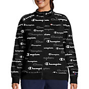 Champion Women's Plus Track Print Jacket