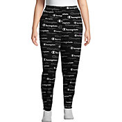 Champion Women's Plus Print Track Pants