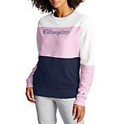 Champion Women's Powerblend Fleece Crew Pullover