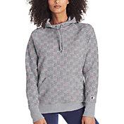 Champion Women's Powerblend Fleece Print Hoodie