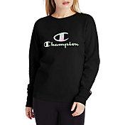 Champion Women's Powerblend Graphic Crewneck Sweatshirt