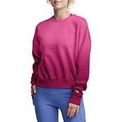 Champion Women's Powerblend Oversized Ombre Crewneck Sweatshirt