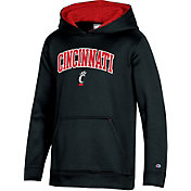 Champion Youth Cincinnati Bearcats Pullover Black Hoodie