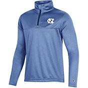 Champion Youth North Carolina Tar Heels Carolina Blue Quarter-Zip Performance Shirt