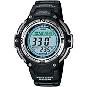 Casio Dual Time Compass Thermometer Tracker Watch