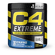Cellucor C4 Extreme Pre-Workout Icy Blue Razz 30 Servings