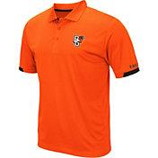 Colosseum Men's Bowling Green Falcons Orange Fore Polo