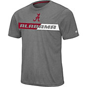 Colosseum Men's Alabama Crimson Tide Grey Bait T-Shirt