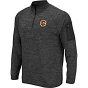Colosseum Men's Bethune-Cookman Wildcats Grey Quarter-Zip Pullover