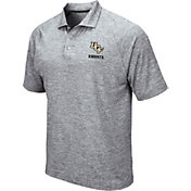 Colosseum Men's UCF Knights Grey Wedge Polo