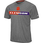 Colosseum Men's Clemson Tigers Grey Bait T-Shirt