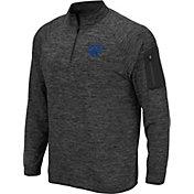 Colosseum Men's Fayetteville State Broncos Grey Quarter-Zip Shirt