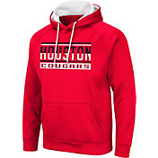 Colosseum Men's Houston Cougars Red Pullover Hoodie