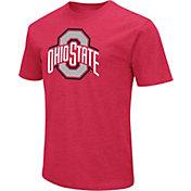 Colosseum Men's Ohio State Buckeyes Scarlet T-Shirt