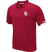 Colosseum Men's Oklahoma Sooners Crimson Fore Polo