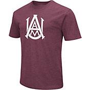 Colosseum Men's Alabama A&M Bulldogs Maroon Dual Blend T-Shirt