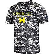 Colosseum Men's Michigan Wolverines Camo OHT T-Shirt