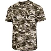 Colosseum Men's Michigan Wolverines Camo OHT Terrain T-Shirt