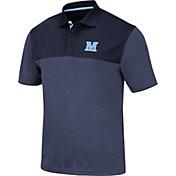 Colosseum Men's Maine Black Bears Blue Links Polo