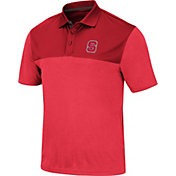 Colosseum Men's NC State Wolfpack Red Links Polo