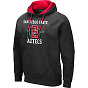 Colosseum Men's San Diego State Aztecs Pullover Black Hoodie
