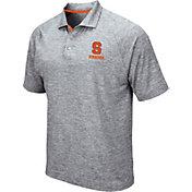 Colosseum Men's Syracuse Orange Grey Wedge Polo