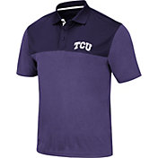Colosseum Men's TCU Horned Frogs Purple Links Polo