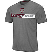 Colosseum Men's Texas A&M Aggies Grey Bait T-Shirt