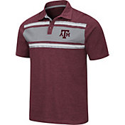 Colosseum Men's Texas A&M Aggies Maroon Doppelganger Polo