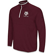 Colosseum Men's Texas A&M Aggies Maroon Rival Quarter-Zip Shirt