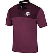 Colosseum Men's Texas A&M Aggies Maroon Links Polo