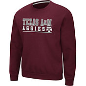 Colosseum Men's Texas A&M Aggies Maroon Rally Crewneck Sweatshirt