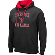Colosseum Men's Texas Tech Red Raiders Pullover Black Hoodie