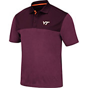 Colosseum Men's Virginia Tech Hokies Maroon Links Polo