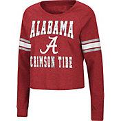 Colosseum Women's Alabama Crimson Tide Crimson Cuba Libre V-Neck T-Shirt
