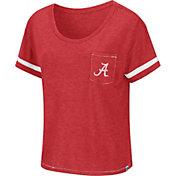 Colosseum Women's Alabama Crimson Tide Crimson Waffles Meet & Greet T-Shirt