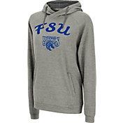 Colosseum Women's Fayetteville State Broncos Grey Pullover Hoodie