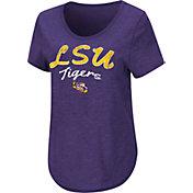 Colosseum Women's LSU Tigers Purple Rule Breaker T-Shirt